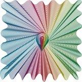 Rainbow vortex Stock Image
