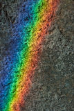 Rainbow on the wall Royalty Free Stock Images