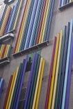 Rainbow Wall Royalty Free Stock Photos