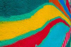 Rainbow wall Royalty Free Stock Photo