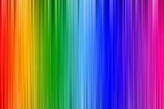 Rainbow wallpaper Stock Image