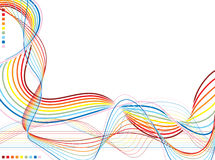 Rainbow Warp Stock Photography