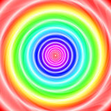 Rainbow warp Stock Photos