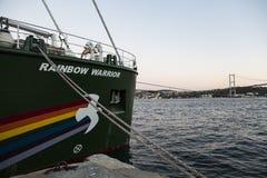 Rainbow Warrior Imágenes de archivo libres de regalías