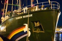 Rainbow warrior Stock Image