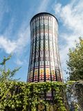 Rainbow water tower, Milan Stock Photography