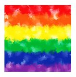 Rainbow watercolor background Stock Images