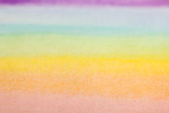 Rainbow watercolor background Stock Photos