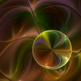 Rainbow watercolor swirl Royalty Free Stock Images