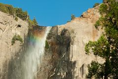 Rainbow in a waterfall Royalty Free Stock Photos