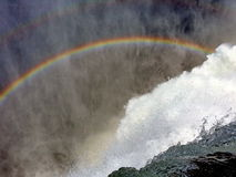 Rainbow waterfall Stock Photos