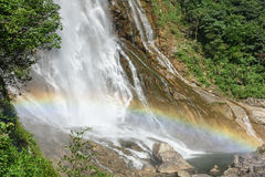 Rainbow Waterfall royalty free stock images