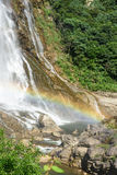 Rainbow Waterfall royalty free stock image