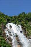 Rainbow Waterfall stock photography