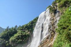 Rainbow Waterfall Stock Photo