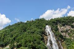 Rainbow Waterfall Royalty Free Stock Photography