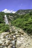 Rainbow Waterfall royalty free stock photos