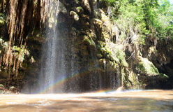 Rainbow waterfall Royalty Free Stock Photos