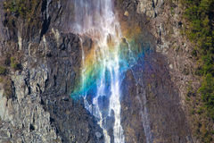 Rainbow Waterfall Stock Image