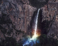 Rainbow Waterfall, Yosemite Royalty Free Stock Photography