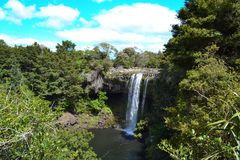 Rainbow Waterfalls, Kerikeri Royalty Free Stock Images