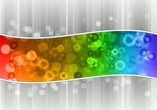Rainbow wave Royalty Free Stock Photo