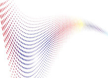Rainbow Wave Stock Images