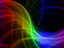 Rainbow wave Royalty Free Stock Photo