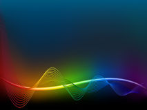 Rainbow  wave Royalty Free Stock Photos