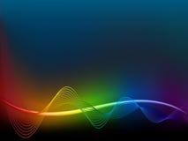 Rainbow  wave Royalty Free Stock Photos