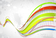 Rainbow wave Stock Photos