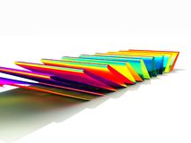 Rainbow Waves Stock Photography