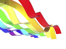 Rainbow waves Royalty Free Stock Photography