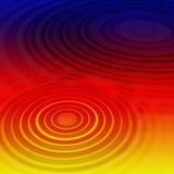 Rainbow Waves Abstract. Colourful Abstract Background With Circular Wave Ripple Pattern Stock Photos