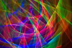 Rainbow Web (abstract) Stock Image