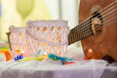 Rainbow wedding or event production Royalty Free Stock Photo