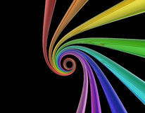Rainbow whirlpool Royalty Free Stock Image