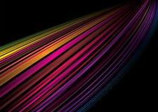 rainbow whoosh απεικόνιση αποθεμάτων