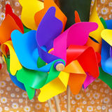 Rainbow Windmill Stock Images