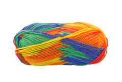 Rainbow wool Stock Photo