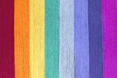 Rainbow wool background Stock Images