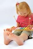 Rainbow xylophone Stock Photo