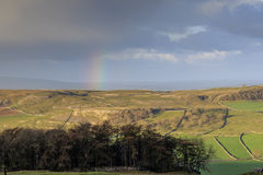 Rainbow in the Yorkshire Dales Stock Photo