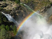 Rainbow in Yosemite Royalty Free Stock Photos