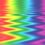 Rainbow Zig Zags. Abstract of rainbow spectrum in zig zag pattern Royalty Free Stock Photo