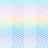 Rainbow zigzag seamless pattern. Eps 10 vector file Royalty Free Stock Photography