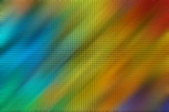 Rainbow zoom. A rainbow abstract for a desktop picture Royalty Free Stock Photography