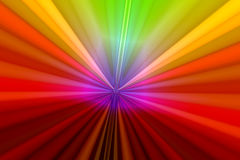 Rainbow Zoom. Colorful rainbow colors in abstract background zoom Royalty Free Stock Photography