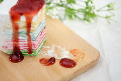 Rainbowcake fotografia royalty free