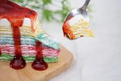 Rainbowcake obrazy royalty free